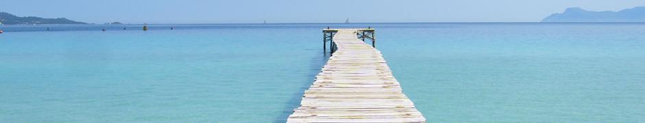 Pier of Alcudia